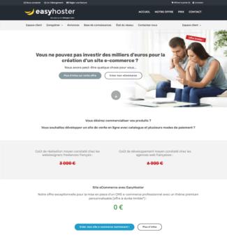 easyhoster hébergeur web belge