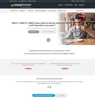hébergeur web belge easyhoster